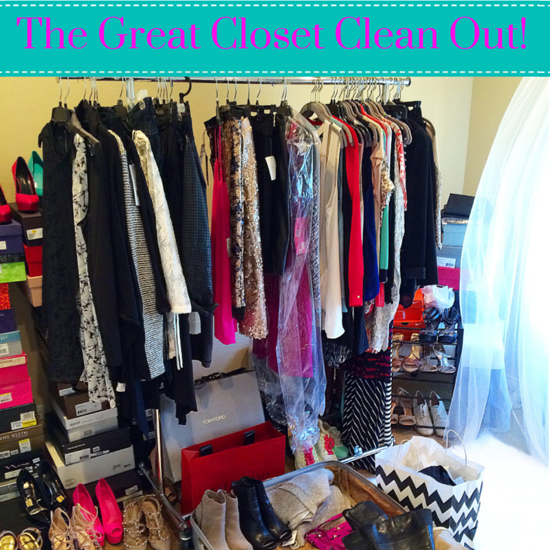 The Great Closet Clean Out!