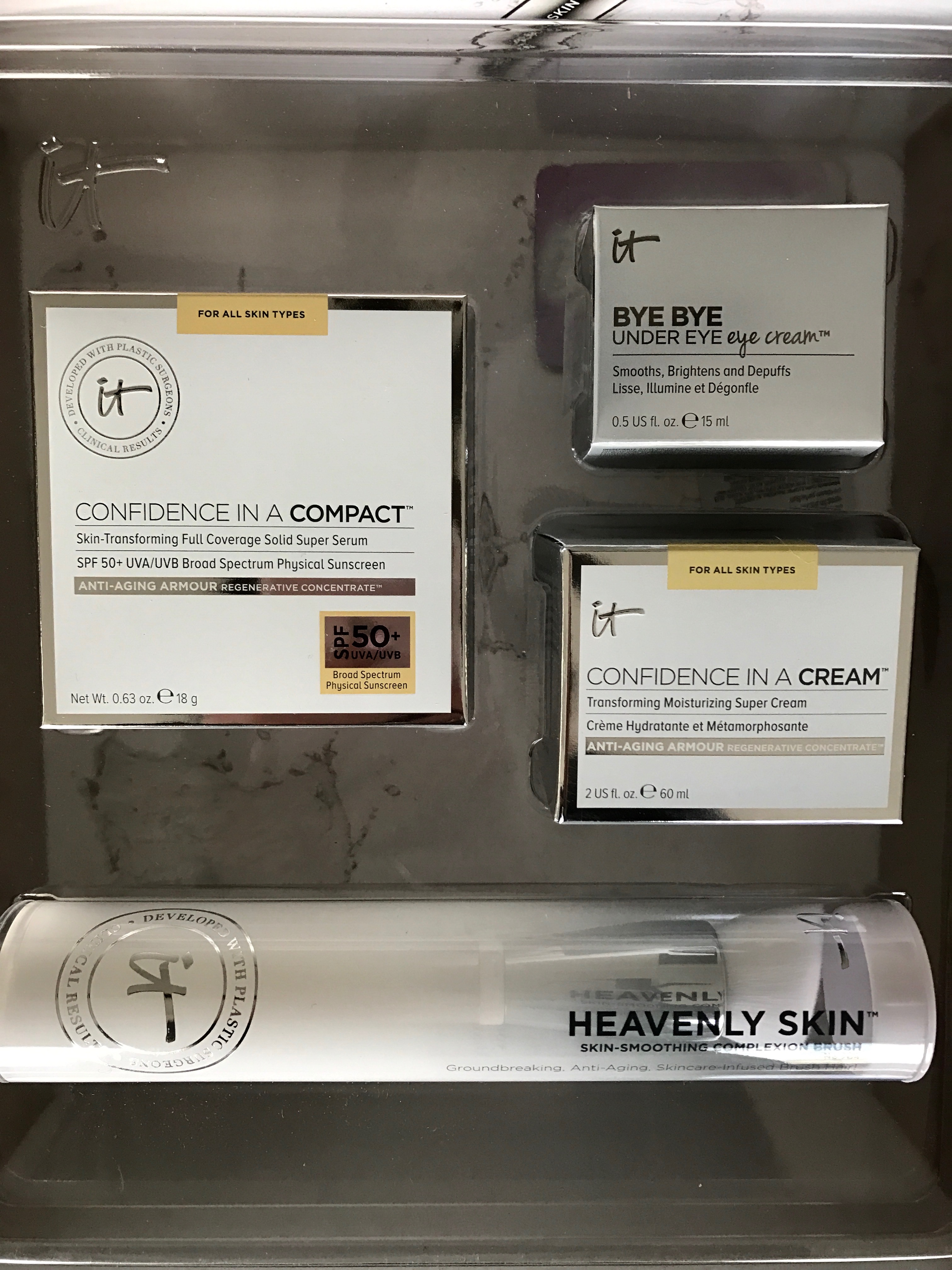 """The First It Cosmetics """"One Day Only Awesome Priced Kit"""" for January"""
