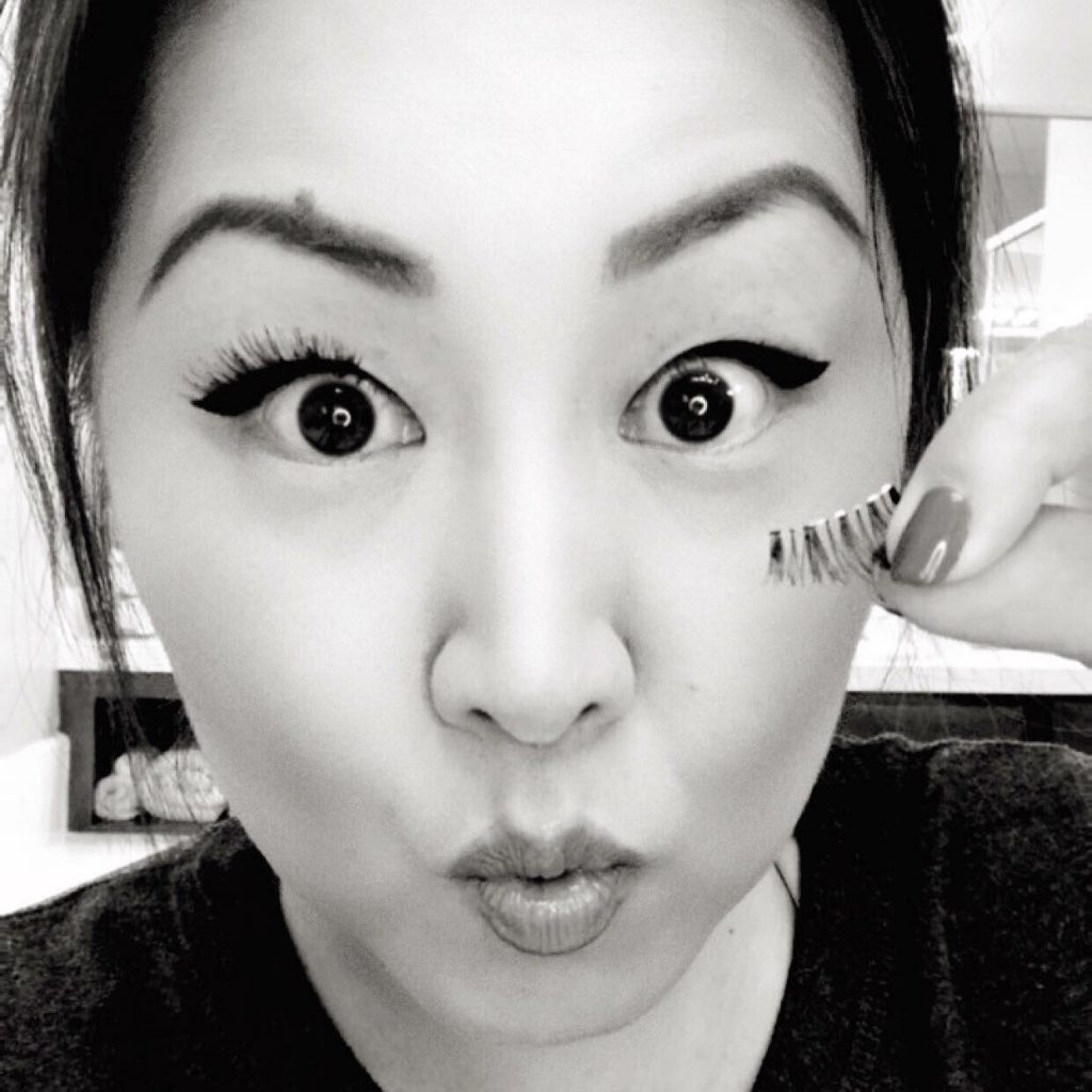 6ec06228c34 I have a love/hate relationship with falsies. I LOVE how they look  especially since I was blessed with 9 of the saddest, puniest lashes but  hey 9 is better ...